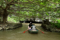 Going under canopies and caves - the special Tam Coc river experience