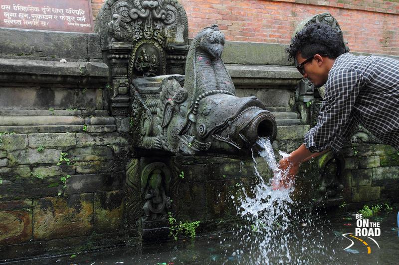 Gargoyle at Patan Heritage Zone