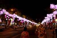 Saigon city District 1 all decked up to welcome the Tet New Year