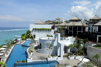 Gorgeous Indian Ocean facing villas of Bali with private butlers and swimming pools