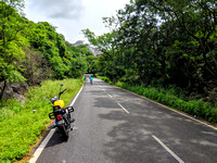 Monsoon motorcycle ride to Savanadurga, Karnataka