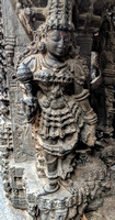 Hoysala style scultping at 9th Century Bhoga Nandeeswara Temple