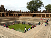 Kalyani or temple pond at Bhoga Nandeeswara Temple