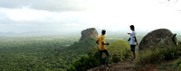 Trekking to the top of Sigriya to discover this view of the Sigriya Rock