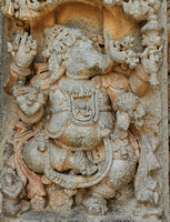 Vishnu in Varaha Avatar at the Keshava Temple in Somnathpur, Karnataka