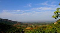 View of the lovely plains from the trekking path