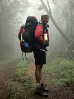 Trekking the Nilgiris in heavy rains from Kodaikanal, Tamil Nadu to Munnar, Kerala in India