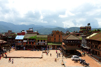 A Bhaktapur Heritage Zone Landscape