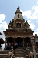 Ancient temple in Bhaktapur Heritage Zone