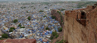 Blue Jodhpur as seen from Mehrangarh Fort