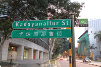 Kadayanallur St in Singapore's Chinatown