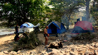 Camping at Bheemeshwari by the Cauvery River