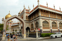 Entrance to Singapore's Masjid Sultan