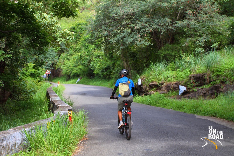 Cycling through the green roads of Goa