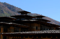 Buildings of Bhutan built without a single nail