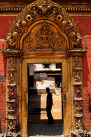 Entrance to the main Bhaktapur Temple Courtyard