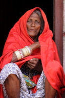 An Elderly Woman from the nomadic Lambani Tribe