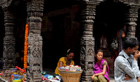 Street Moment from the small shops of Patan, Nepal