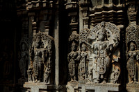 Intricate Hoysala Sculpting at Somnathpur Temple