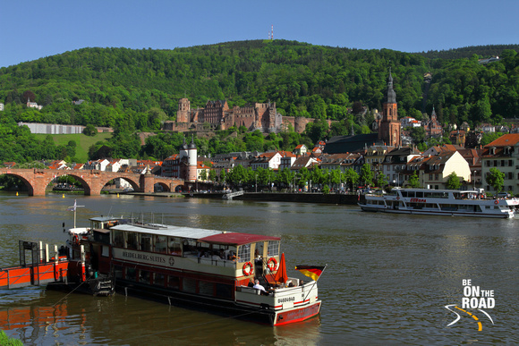 The dreamy city of Heidelberg, Germany
