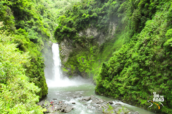 Tappiyah Falls - lovely setting near Batad, Philippines