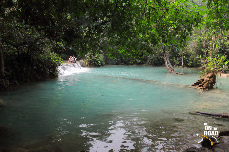 Kuang Xi waterfall waters - ideal for swimming