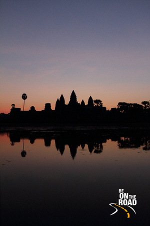 Angkor sunrise - one of the more famous moments in the photography world