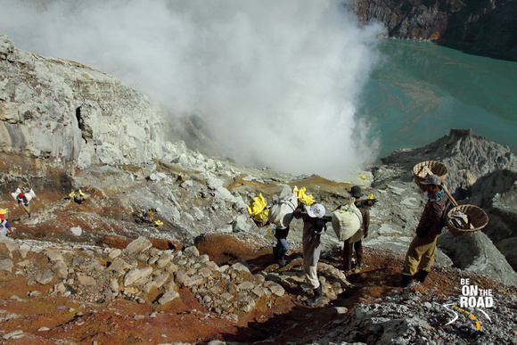 A day in the life of a Kawah Ijen Sulphur Miner