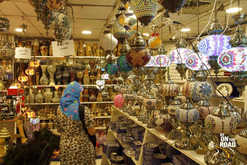 Inside a souvenir shop, Amman, Jordan