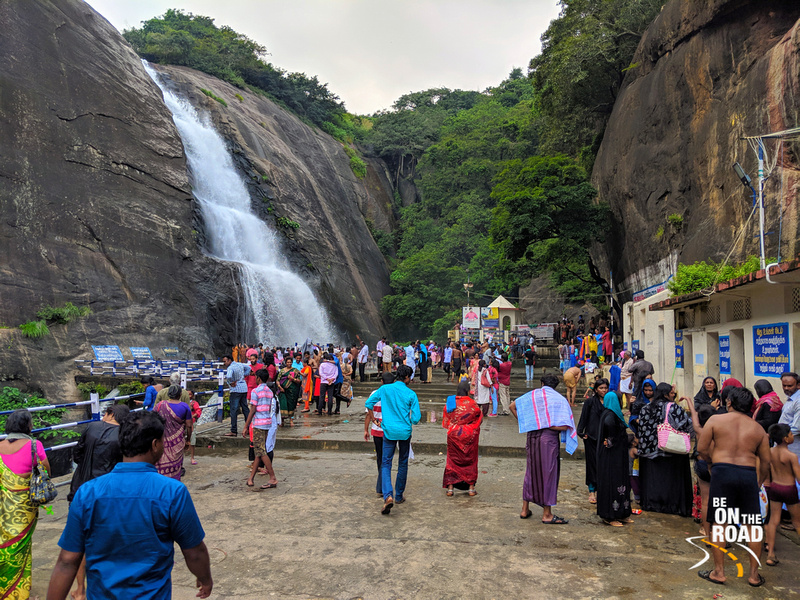 Old Courtrallam Falls - a medicinal natural bath in the Western Ghats