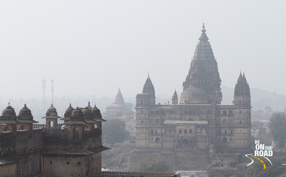 Foggy Orchha view