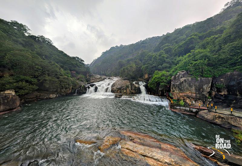 Gorgeous Manimuthar Waterfalls inside Kalakad Mundanthurai Tiger Reserve, Tamil Nadu
