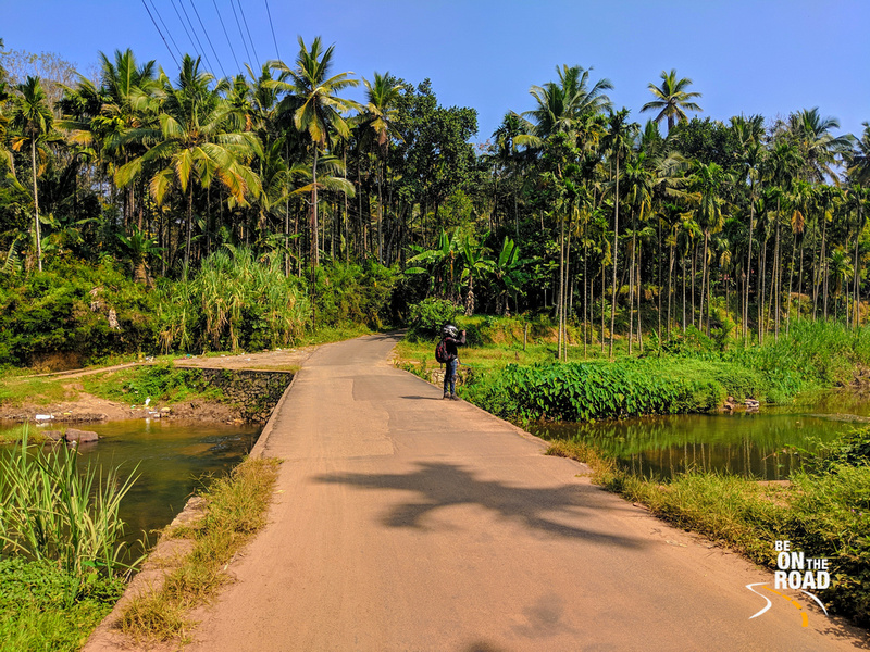 The gorgeous countryside of Kerala