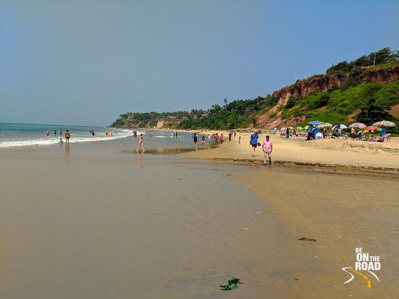 A day at Varkala beach, Kerala