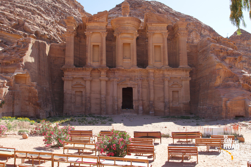 The stunning Monastery from Petra, Jordan