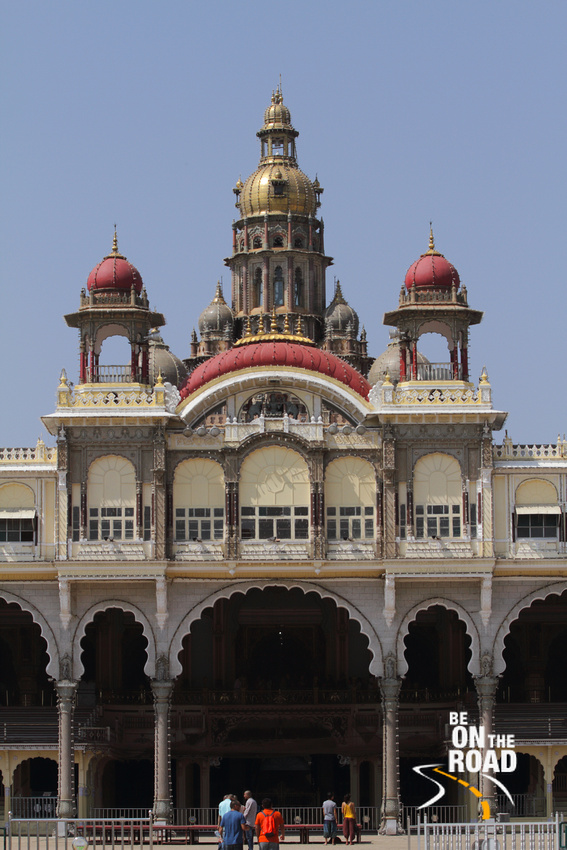 Main entrance to Mysore Palace, India