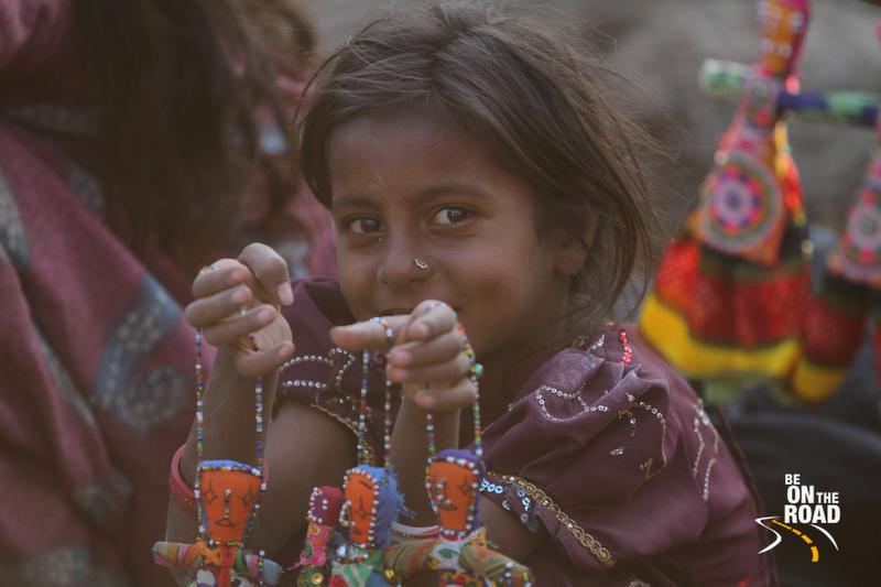 The innocent smile of a Nirona Kid, Gujarat, India