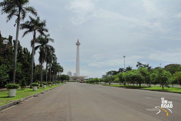 Monument Nasional in Central Jakarta