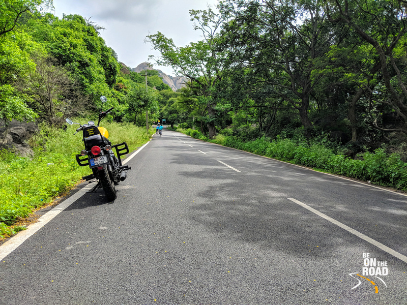 A lush green pit stop overlooking the famous rocks of Ramanagaram district of Karnataka