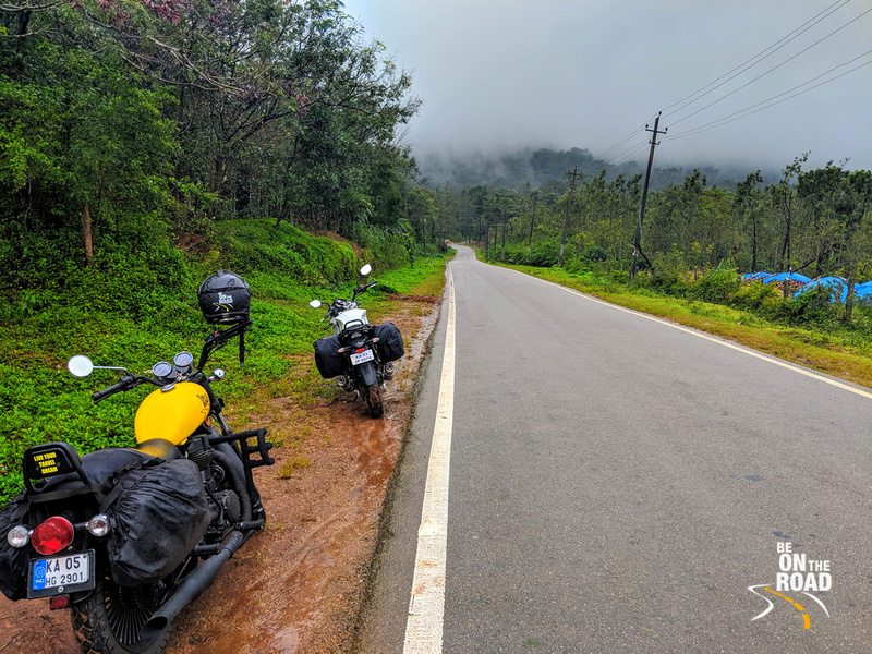 Monsoon Motorcycle Ride to Bisle Ghat, Karnataka