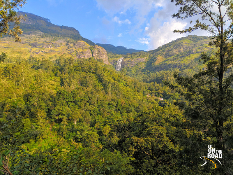 Waterfall amidst the forests - enroute to Munnar from Marayoor