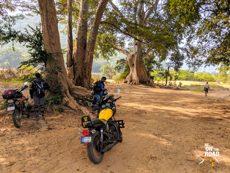 Pit Stop next to the Cauvery at Dabbaguli