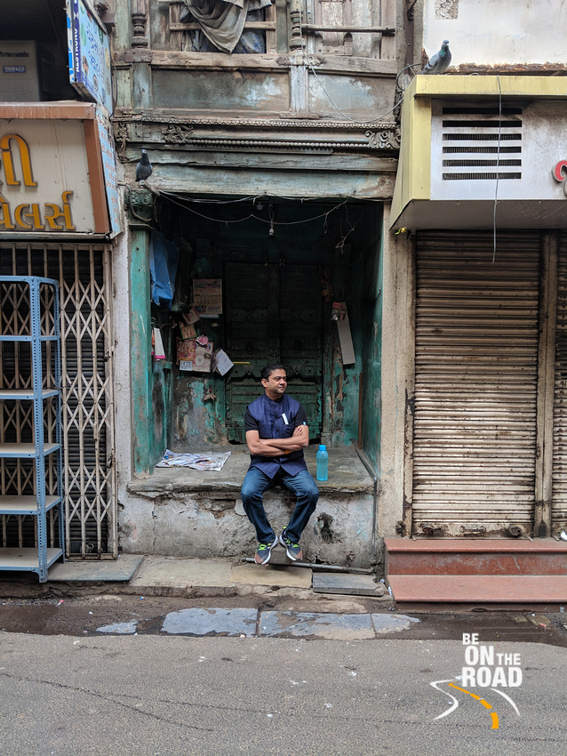 A moment from Ahmedabad's heritage walk