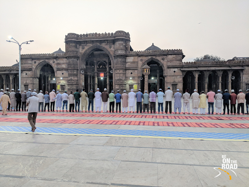 Its prayer time at Jama Masjid, Ahmedabad