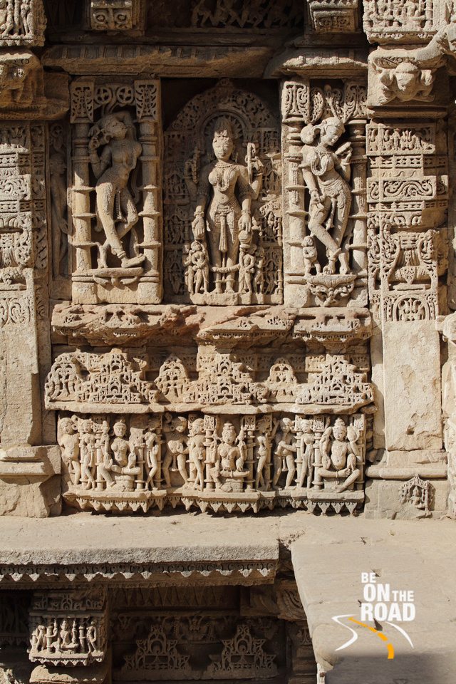 Visual stories seen from every single nook and corner of Rani Ki Vav Stepwell, Patan, Gujarat