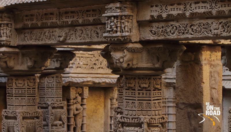 Carvings and sculpting on every inch of Rani Ki Vav Stepwell, Gujarat