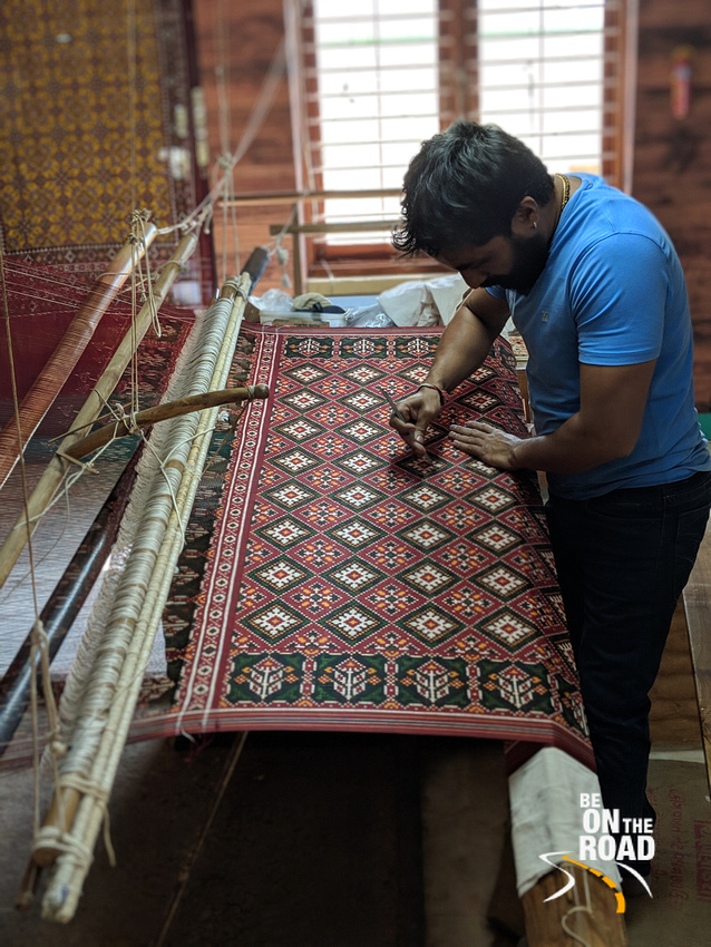 The 1000 old weaving heritage of Patan - Patola
