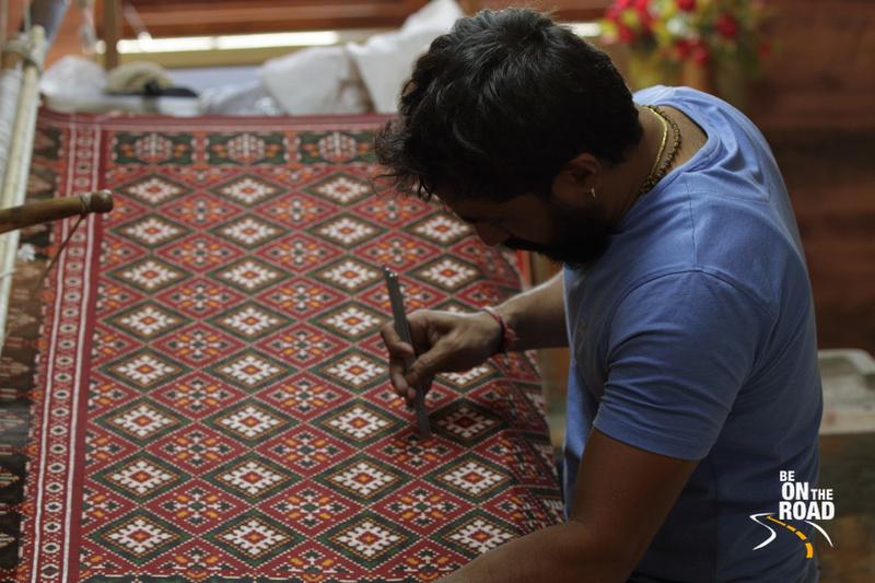 The patola saree artisan of Patan, Gujarat