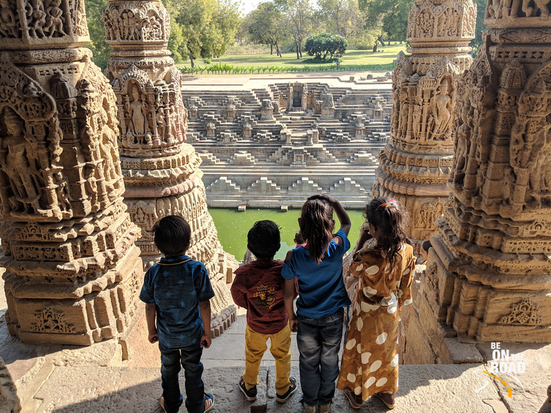 Photographing the beautiful Modhera Sun Temple
