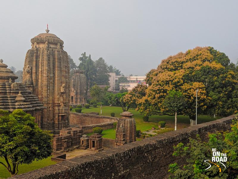 Lingaraj Temple in the early morning sun